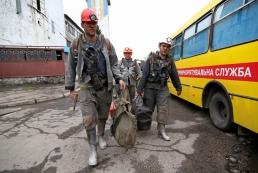Авария на донецкой шахте: четверо горняков получили ожоги