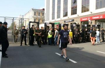 На «Марше равенства» полиция изъяла газовые баллончики, яйца и зеленку
