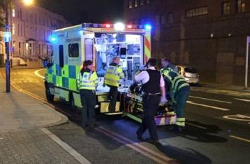В Лондоне фургон наехал на людей, есть жертвы