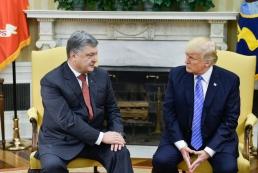 Порошенко: США пообещали помочь в освобождении пленных