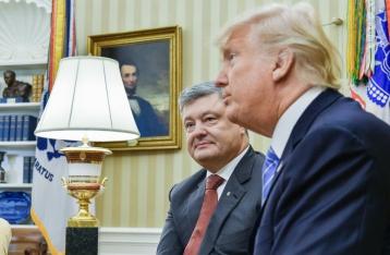 Порошенко: Трамп может помочь принести мир Украине
