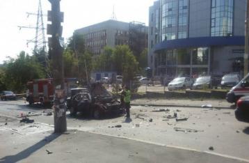 МВД: Погибший при взрыве авто в Киеве был военнослужащим