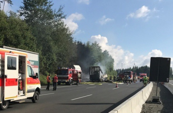 В результате ДТП в Баварии украинцы не пострадали