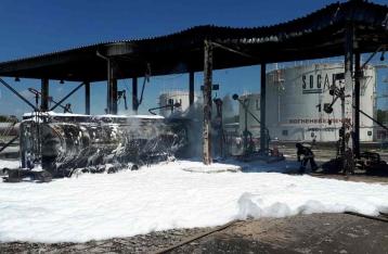 Под Одессой сгорел бензовоз, есть пострадавшие
