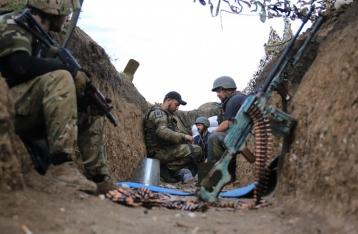 Сутки в зоне АТО: 13 обстрелов, ранен один военный