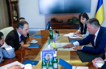 Аваков на встрече с послом Италии назвал обвинения против Маркива абсурдными