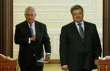 Тиллерсон: РФ должна сделать первый шаг для деэскалации на Донбассе