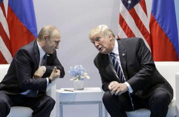Трамп: Санкции с РФ не снимут до прекращения конфликтов в Украине и Сирии