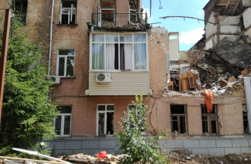 КГГА: Разрушенный взрывом дом в Киеве восстановлению не подлежит