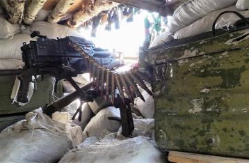 Сутки в АТО: один военный погиб, еще один ранен