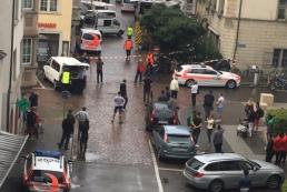 В Швейцарии на прохожих напал мужчина с бензопилой