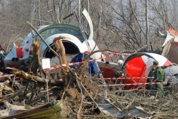 Польская комиссия нашла следы взрыва на крыле самолета Качиньского