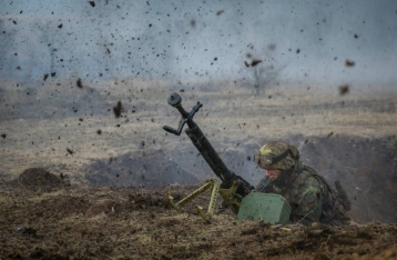 Ситуация в зоне АТО обострилась, боевики обстреляли позиции ВСУ из «Градов»