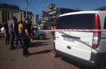 Возле столичного ж/д вокзала произошла стрельба, ранены 3 человека