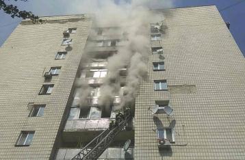 Пожар в Киеве: с 7 этажа выпрыгнул мужчина, еще два человека погибли в квартире