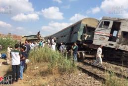 В результате железнодорожной катастрофы в Египте погибли 25 человек