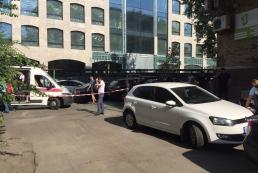 Стрельба в Киеве: у бизнесмена пытались украсть деньги