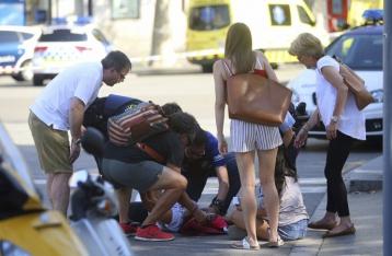 Количество пострадавших в Барселоне превысило 100 человек