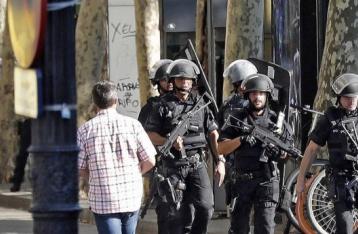 Испанская полиция застрелила мужчину с поясом смертника