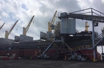 В Украину отправили первую партию американского угля