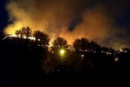 В Харькове горит апелляционный админсуд