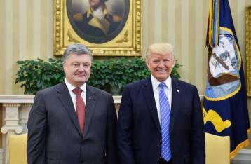 Трамп поздравил Украину с Днем Независимости