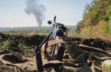 Число обстрелов в зоне АТО сократилось, потерь среди военных нет