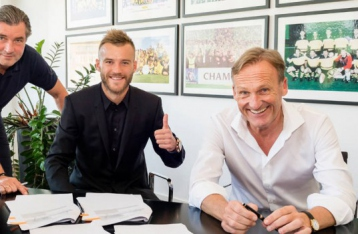 Ярмоленко подписал контракт с «Боруссией»