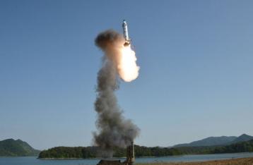 КНДР произвела пуск ракеты в сторону Японии