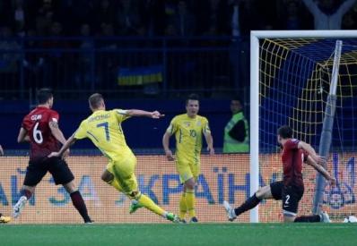 Сборная Украины обыграла команду Турции в отборе ЧМ-2018