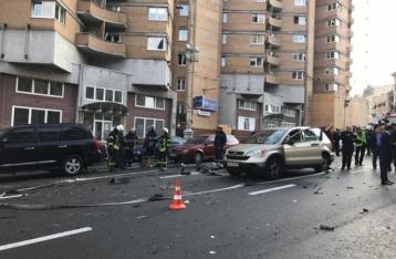 В результате взрыва авто в центре столицы погиб мужчина