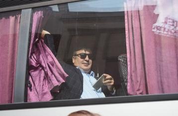 Мишин день: Как Саакашвили прорывался в Украину