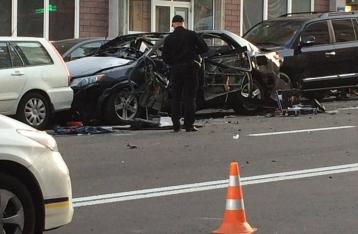 СМИ: У полиции есть видео с киллером, взорвавшим авто Махаури