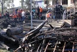 Почему на самом деле сгорел деревянный корпус детского лагеря?