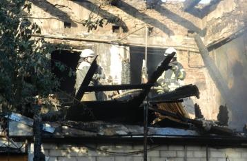 Пожар в Херсоне: найдено тело третьего ребенка