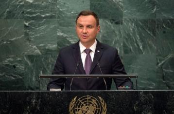 Дуда: РФ нарушает фундаментальные принципы ООН в Грузии и Украине