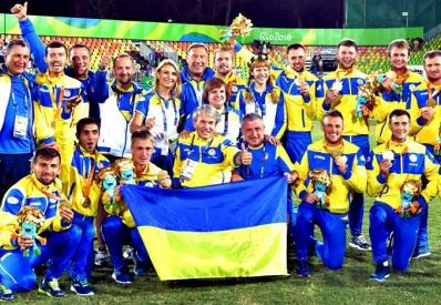 Паралимпийская сборная Украины по футболу стала чемпионом мира