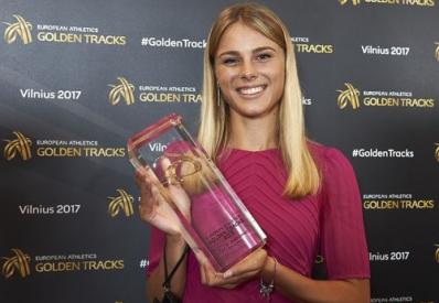 Украинская легкоатлетка победила в номинации «Восходящая звезда» в Европе