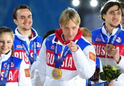 РФ вернула первое место в медальном зачете Олимпиады-2014