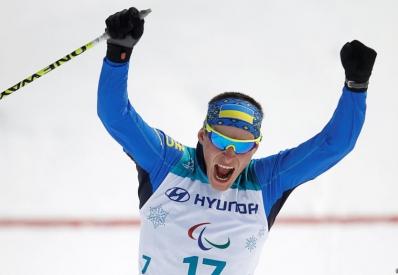 Украинец Рептюх завоевал третье «золото» на Паралимпиаде