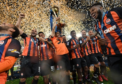 «Шахтер» выиграл Кубок Украины по футболу