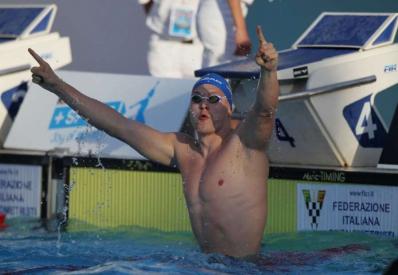Украинец установил мировой рекорд в плавании баттерфляем