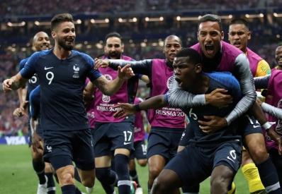 Сборная Франции стала чемпионом мира