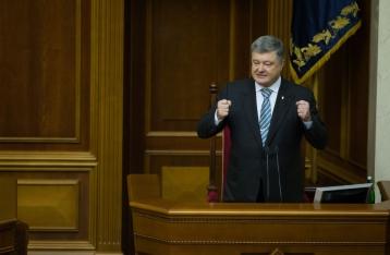 Порошенко предлагает Раде продлить закон об особом порядке на Донбассе