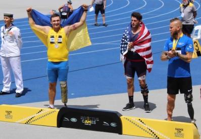 Украина завоевала еще одну медаль на Играх Непокоренных