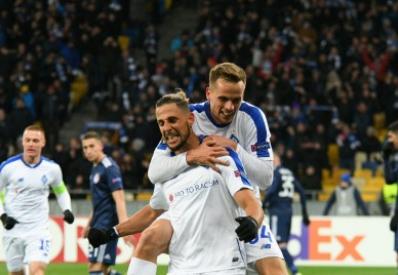 «Динамо» победило «Олимпиакос» и вышло в 1/8 финала Лиги Европы