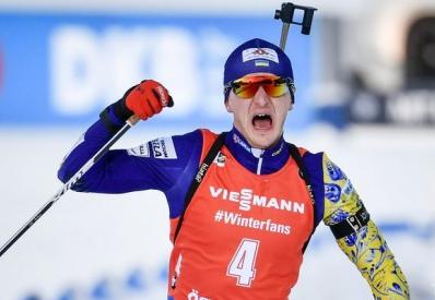 Украинец Пидручный стал чемпионом мира по биатлону