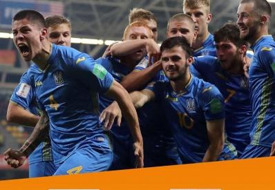 Молодежная сборная Украины по футболу вышла в финал ЧМ