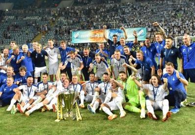 «Динамо» выиграло Суперкубок Украины