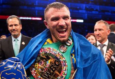 Ломаченко завоевал чемпионский пояс WBC
